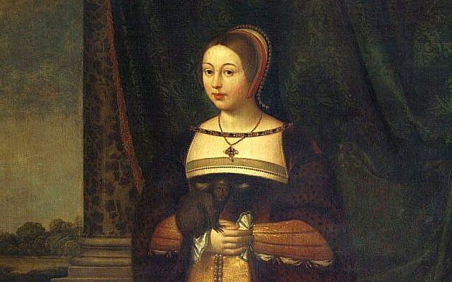 Margaret Tudor, dated c. 1620-1638, by Daniel Mytens. (Public Domain/ Wikimedia Commons)
