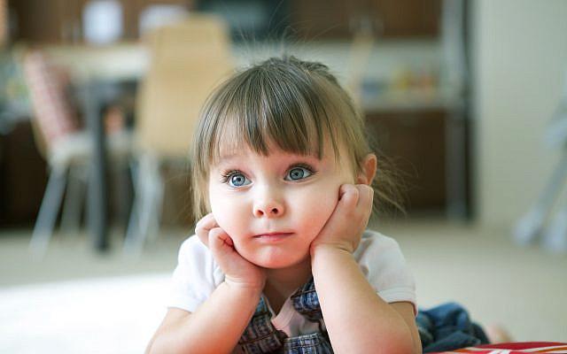 Illustrative. Attentive little girl. (iStock)
