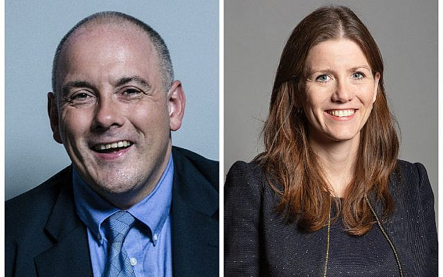 Rob Halfon and  Michelle Donelan (Jewish News)