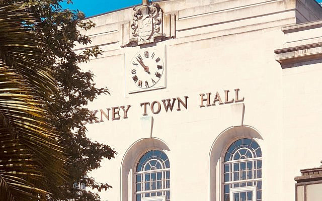 Hackney Town Hall (Photo by Étienne Godiard on Unsplash via Jewish News)