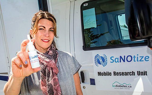 Dr. Gilly Regev, CEO of SaNOtize (Courtesy)