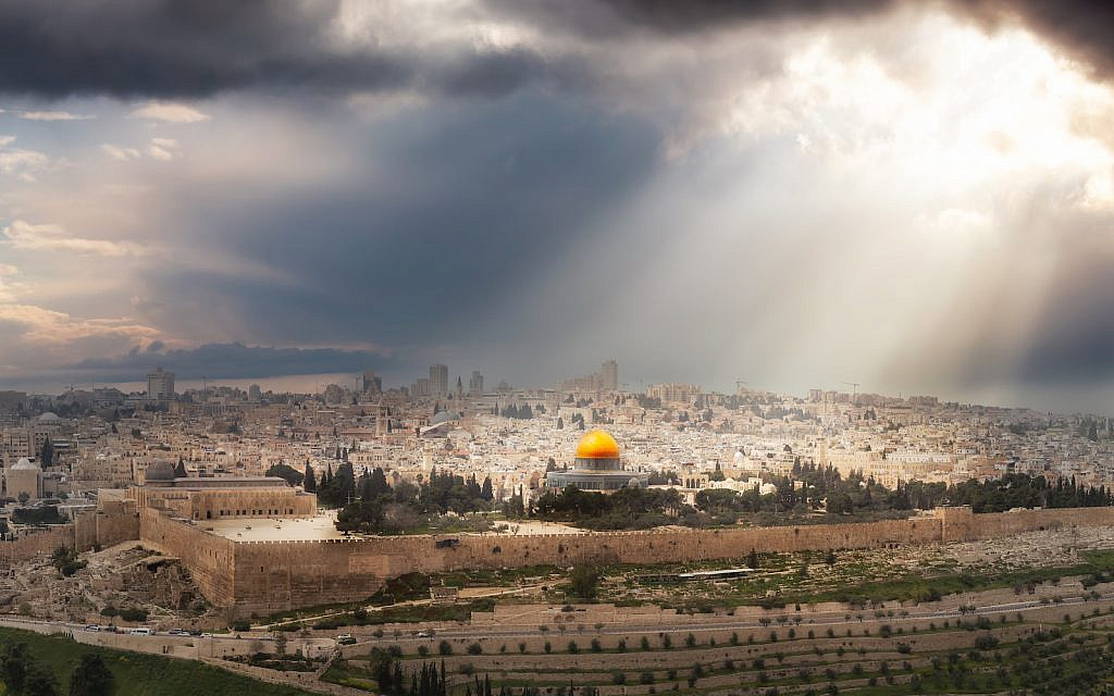 'In my vision of a future peace, the Palestinian leadership would be wise to let the Jews build their Third Temple on the Temple Mount.' (iStock)