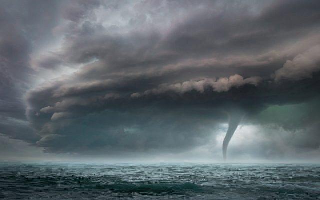 Storm - Global Warming https://pixabay.com/photos/landscape-storm-sleeve-navy-clouds-5363681/
