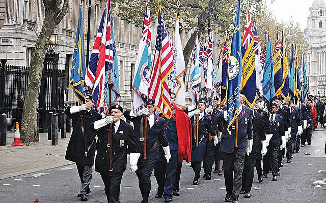 AJEX Parade in 2017 (Jewish News)