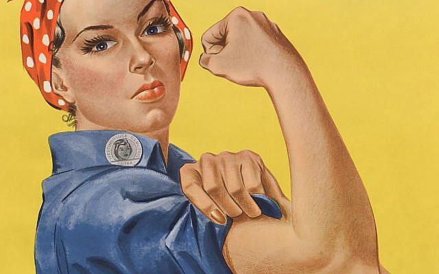 CURRENT MOOD  Rosie the Riveter. J. Howard Miller • Public domain