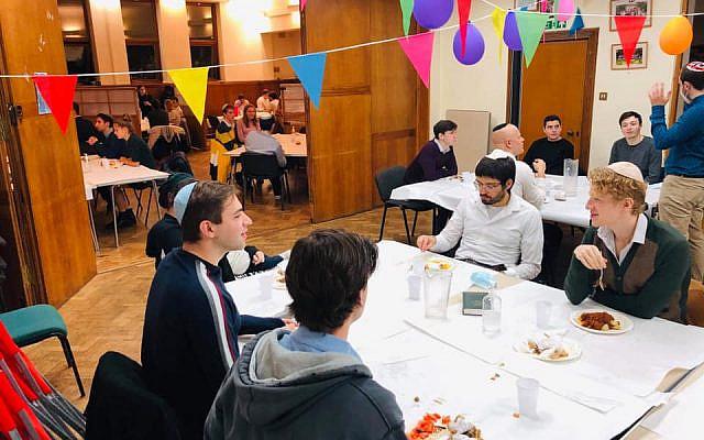 Cambridge In-Person Friday Night (pre second lockdown) (Jewish News)