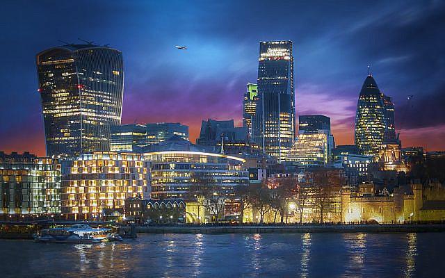 City of London's banking district (Photo by Viktor Forgacs on Unsplash via Jewish News)
