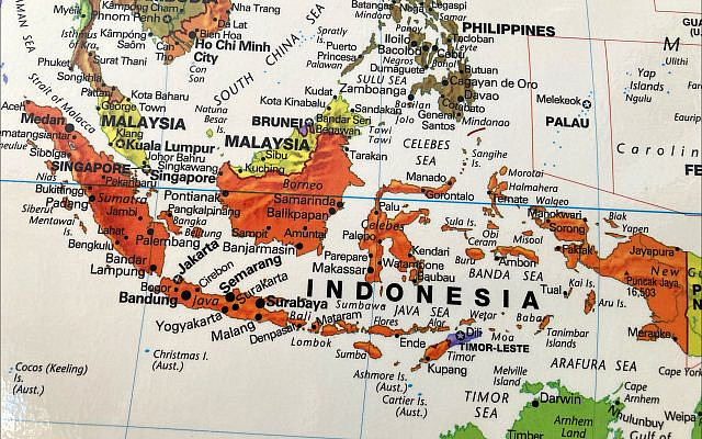 Indonesia consists of more than 17,500 islands, though 56% of the population is squeezed onto the island of Java. (Larry Luxner)
