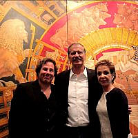 Mauricio Avayu with former Mexican President Vicente Fox and his wife