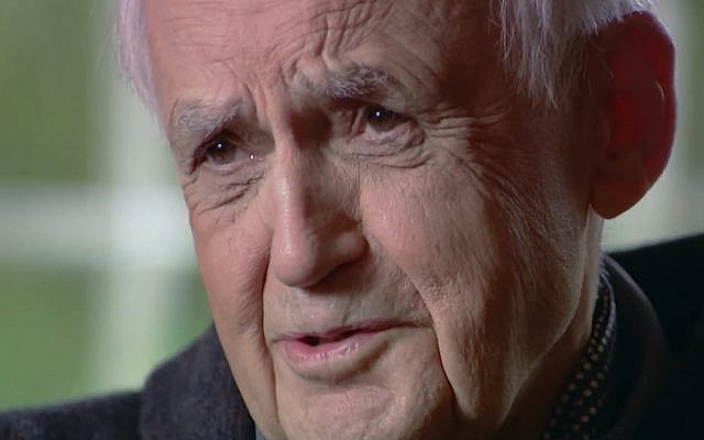 Maurice Hilleman interviewed for the film 'Hilleman, a Perilous Quest to Save the World's Children.' (Screen capture/ YouTube)