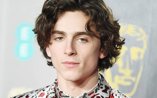 French-American actor Timothy Chalamet attends the red carpet arrivals at the British Academy Film Awards at the Royal Albert Hall in London on February 10, 2019. Photo by Rune Hellestad/UPI. Permission to publish purchased on Alamy.com.