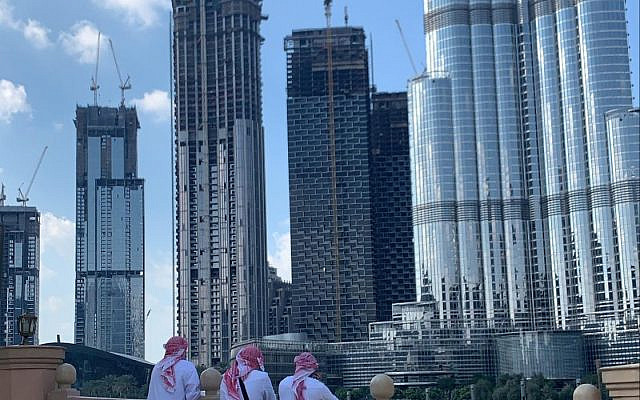 Emirate Youngsters by Burj Halifa