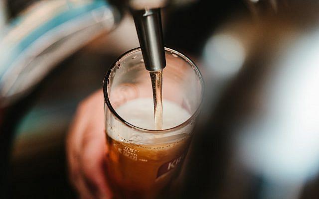 Beer!  (Photo by BENCE BOROS on Unsplash via Jewish News)
