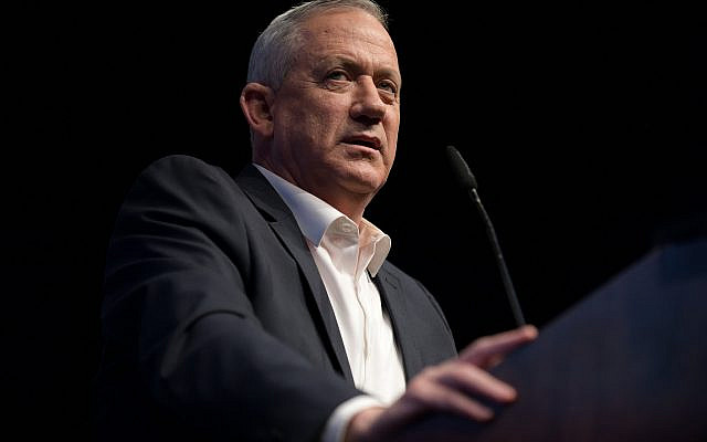 "Benny Gantz: ""A fragmented society whose members feel alienated and marginalized is a society ready to target those it holds responsible for its troubles.""(Gili Yaari/Flash90)"