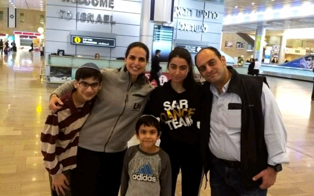 January 14, 2019 Roshwalbs arriving at Ben-Gurion