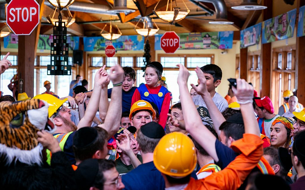 Campers at Camp Simcha (Courtesy of Camp Simcha)