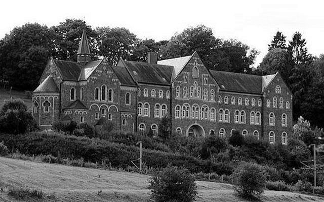 The Cinqfontaines Monastery: Soon after Nazi Germany occupied Luxembourg, the Cinqfontaines Monastery was converted into an internment and collection point for Jews being deported from Luxembourg. Men, women and children of all ages were held here in appalling conditions until deported to death camps. [Photo: Luxembourg Tourism]