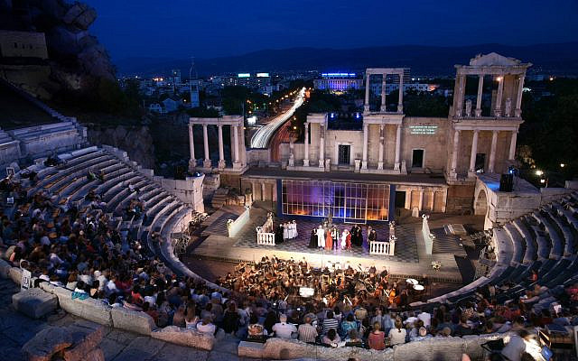 Photo Credit: Varna International Performance in Plodiv, Bulgaria's Ancient Theater