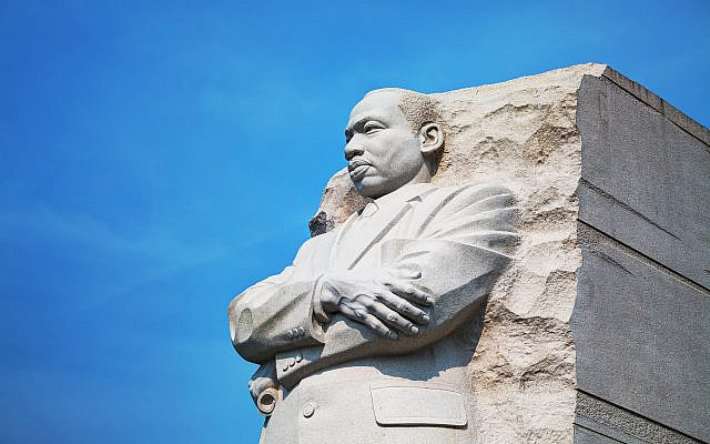 Martin Luther King, Jr memorial monument in Washington, DC. (Stock)