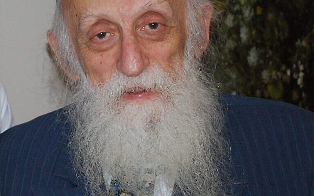 Rabbi Abraham J. Twerski. (CC-BY-SA-3.0/ Latkelarry)
