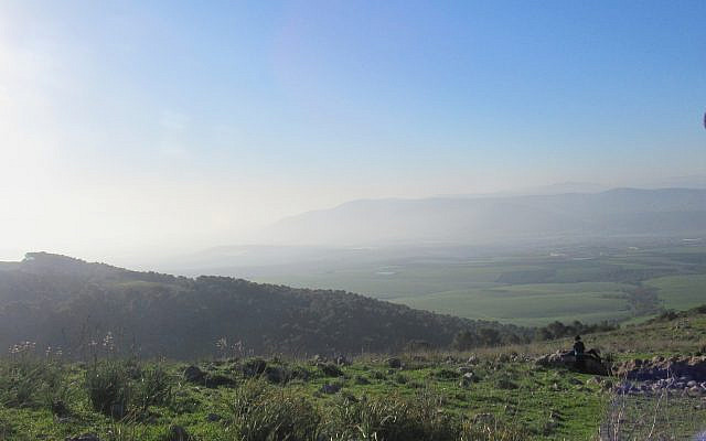 Givat HaMo're at dawn. Overlooking the valley of streams. Taken by David Ben Horin.
