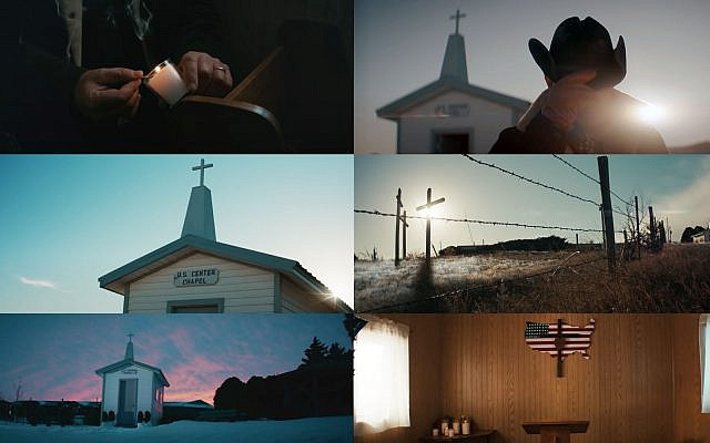 Christian imagery in the Bruce Springsteen/Jeep Super Bowl LV ad, Feb. 7, 2021. (YouTube screenshots)