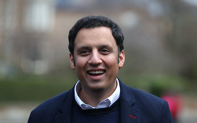 Anas Sarwar after winning the Scottish Labour leadership contest. Picture date: Saturday February 27, 2021. Via Jewish News