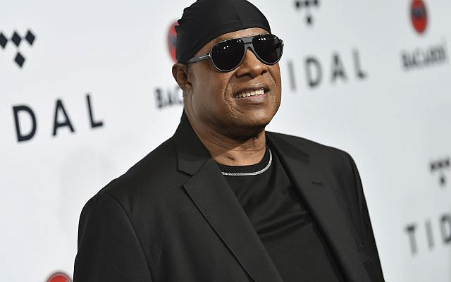 In this October 17, 2017 photo, Stevie Wonder attends the TIDAL X: Brooklyn 3rd Annual Benefit Concert in New York. (Evan Agostini/Invision/AP)