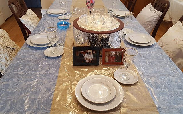 Bring your loved ones to the table symbolically if they cannot be at your seder table