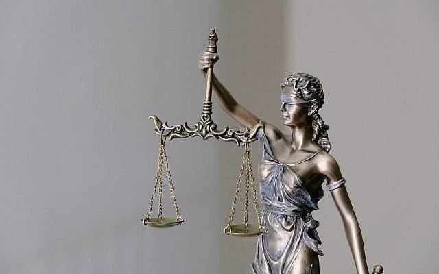 Lady Justice (Photo by Tingey Injury Law Firm on Unsplash via Jewish News)