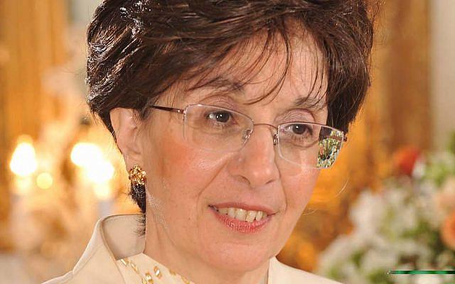 Sarah Halimi (Courtesy of the Confédération des Juifs de France et des amis d'Israël via Jewish News)