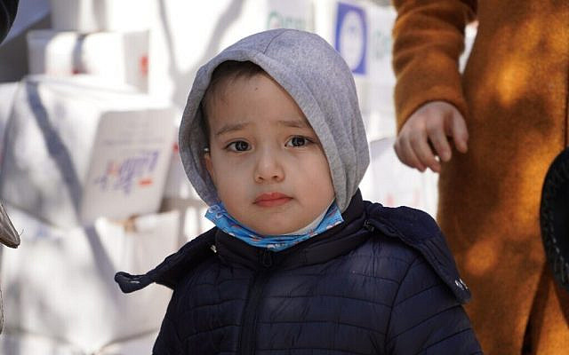 A young Uyghur boy in Istanbul (Photo: WJR)