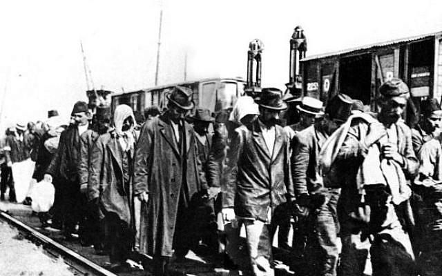Armenian refugees.