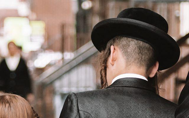 Hassidic man in Brooklyn, NY. September 27, 2020 (iStock)