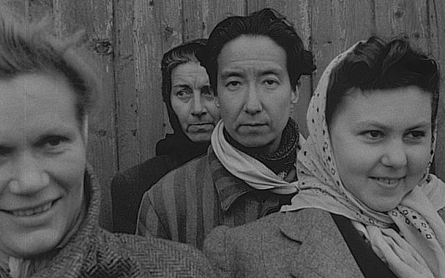 Nadine before the liberation of the camp in 1945, Archivo China España