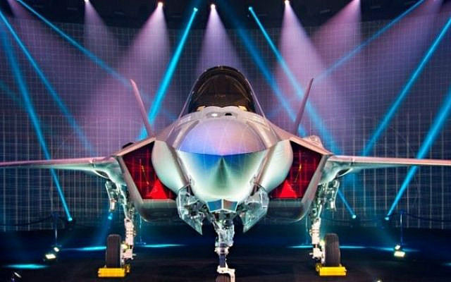 """Tail number 901, the first Israeli F-35A """"Adir"""" is presented to the world in June 2016 – Lockheed Martin photo"""