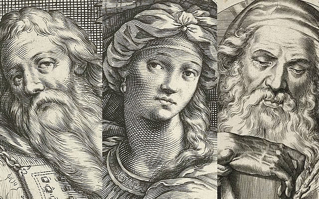 Portraits of Aaron, Miriam, Moses, respectively, combined. At the Rijksmuseum.nl (YouTube)