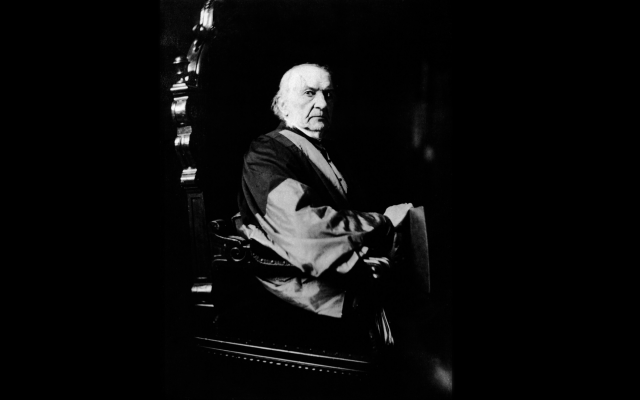 """William Gladstone (Wikipedia/Author Rupert William Potter/ public domain/ /Source:Scanned from """"Camera, National Portrait Gallery, People in Camera 1839-1914"""", published for an exhibition at the National Portrait Gallery, 1 June-12 August 1979 by CJ Bucher Ltd and CAMERA, Switzerland, in association with Granada Television, 1979.)"""