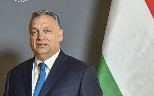 Hungarian Prime Minister Viktor Orban (wikipedia/Sourcehttps://www.flickr.com/photos/9364837@N06/47013210012/ AuthorU.S. Department of State /  [State Department photo by Ron Przysucha/ Public Domain]) via Jewish News