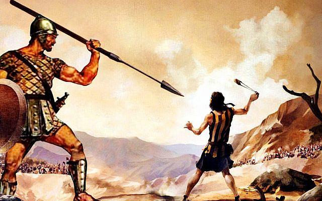 David vs. Goliath. (Twitter)