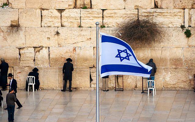 Jewish worshipers pray at the Western Wall in Jerusalem, Israel. Jan 24, 2011:  (iStock)