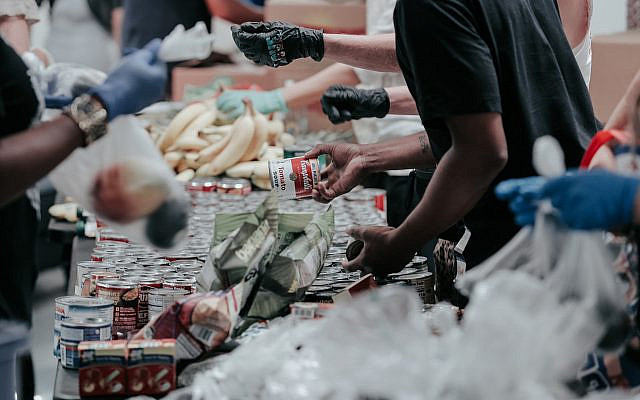 Food bank (Photo by Joel Muniz on Unsplash)