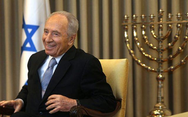 Shimon Peres (Via Jewish News)