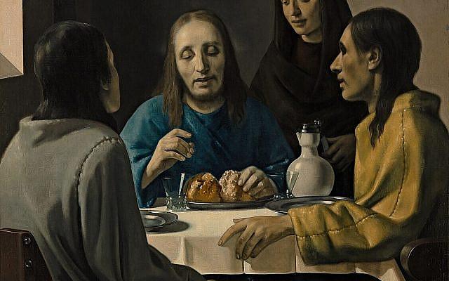 The Supper at Emmaus (1937) by Han van Meegeren. (Public Domain, Wikimedia Commons)