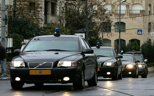 Presidential cavalcade for an Israeli Prime Minister. Source: Public domain