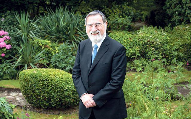 Former chief rabbi Lord Sacks (© Blake-Ezra Photography Ltd. 2013 via Jewish News)