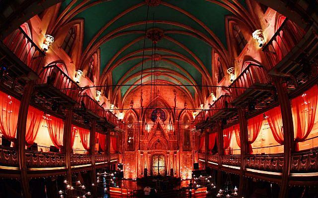 A synagogue in Manhattan, New York. (Mendy Hechtman/FLASH90)