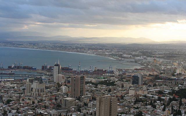 Sunrise on the Haifa Bay, 2006. (Wikipedia)