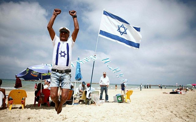 Celebrating life in Israel. (Yehoshua Yosef/ Flash90)