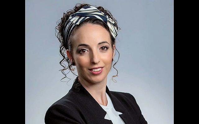 MK Idit Silman of the Yamina Party